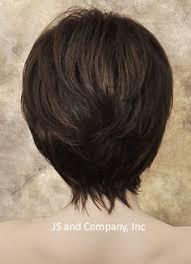 back viewof short shag hairdstyles short shag cindy kazmierski all about the hair pinterest