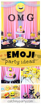 the party ideas 129 best emoji party ideas images on birthdays