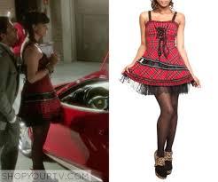 Abby Ncis Halloween Costume Ncis Season 10 Episode 5 Abby U0027s Red Plaid Dress Tv Show Fashion