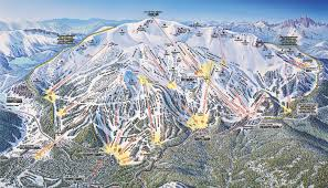 Magic Mountain Map Mammoth Mountain Skimap Org