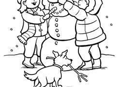 january coloring pages for kindergarten kindergarten winter worksheets free printables education com