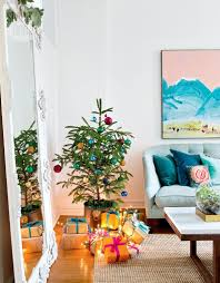 house tour bright and bohemian holiday style at home