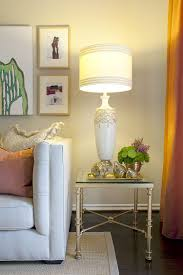 Living Room End Table Decor Valuable Idea End Table Lamps For Living Room Interesting