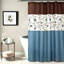 Blue And Yellow Shower Curtains Blue And Brown Curtains Blue And Brown Plaid Curtains Blue Brown