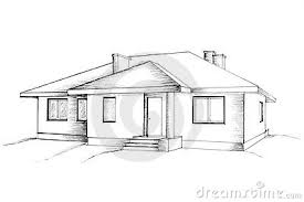 drawing home pleasant 4 drawing of home manual the house stock photos home array