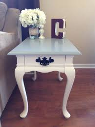 queen anne end tables refinished queen anne end table www facebook com fromattictoamazing