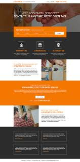 Home Design Online Programs Innovative And Creative Landing Page Design Trends For Locksmiths