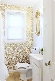 small bathroom wallpaper ideas best 25 small bathroom wallpaper ideas on half