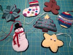 rug hooking a few decorations pins