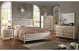 Mirrored Bedroom Set Furniture by Brazia Mirrored Bedroom Furniture
