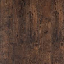 Laminate Flooring With Underpad Attached Pergo Xp Rustic Espresso Oak 10 Mm Thick X 6 1 8 In Wide X 54 11