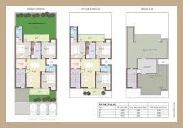 bright ideas duplex house plans in 300 sq yards 14 210 sq plot