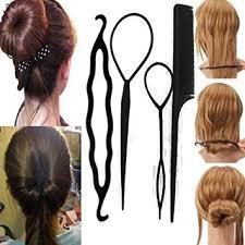 hair bun maker instructiins sanwood women s 4pcs hair twist styling clip stick bun maker braid