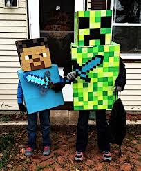 Minecraft Halloween Costume Amazing Diy Halloween Costumes