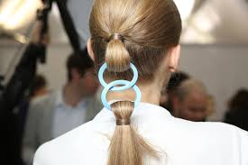 hair show 2015 dior debuts innovative hair extension style at spring 2015 runway