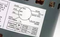 adco fac wagner 3 4 hp condensor fan motor 48y 208 230volt