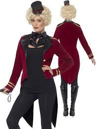 ringmaster halloween ringmaster costume ladies ringmistress fancy dress women