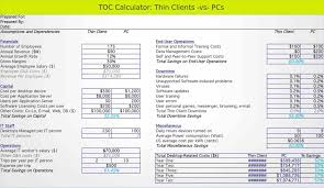 Overhead Calculation Spreadsheet News Vdi Thin Clients Or Pcs Vdi Cost Benefit Analysis Spreadsheet