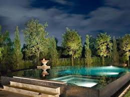 Pool Landscape Lighting Ideas Pool Lighting Tips Hgtv