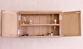 oak bathroom wall cabinets and decorative storage inspirations