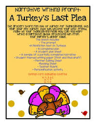 thanksgiving informational narrative writing a turkey s last plea