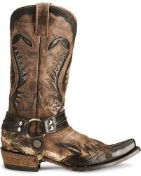 motorcycle boots harness stetson brown harness cowboy boots snip toe country outfitter