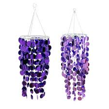 purple party chandelier purple wedding decorations cheap