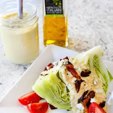blue cheese dressing with a classic wedge salad recipe olivelle