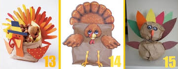 15 brown paper bag turkey craft ideas you can make with the