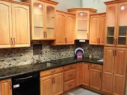 Unique  Light Hardwood Kitchen Design Decorating Design Of - Kitchen designs with oak cabinets