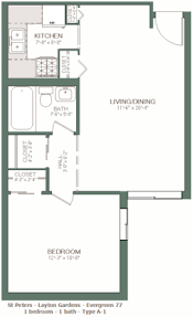 1 Bedroom Apartments In Milwaukee by St Peter Apartments Milwaukee Wi