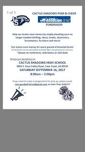 donate sofa pick up cactus shadows cheerleading home facebook