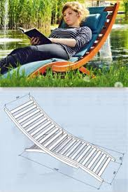 Outdoor Lounge Chair Plans 172 Best Outdoor Furniture Plans Images On Pinterest Outdoor