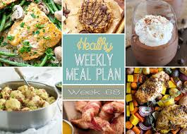 Dinner For The Week Ideas Healthy Weekly Meal Plan 68 Yummy Healthy Easy