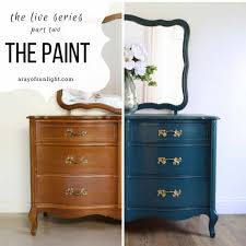 can you use a paint sprayer to paint kitchen cabinets using a paint sprayer to paint a dresser