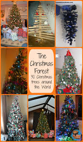 the christmas forest 30 christmas trees around the world