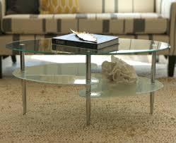 coffee table astounding oval glass coffee table ideas oval coffee