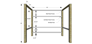 Plans For Loft Beds Free by Bunk Bed House Loft Woodworking Plans And Instructions Surripui Net