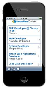 Mobile Resume Maker Resumemaker Professional 17 0 Write A Better Resume Get A