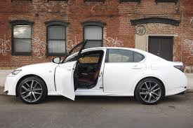 lexus gsf sport the lexus gs 350 f sport falls other luxury sedans bloomberg