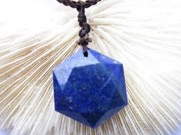 crystal stone pendant necklace images Natural lapis lazuli crystal quartz stone pendant primaries lazing jpg