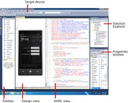 design web form in visual studio 2010 developing a windows phone application from start to finish