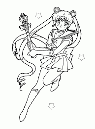 lovely sailor moon coloring pages sailor moon coloring pages image