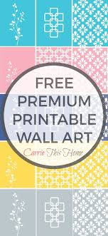free printable art home decor free printable wall art