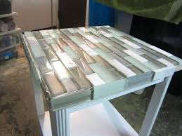 tile table top makeover how to tile a table how to tile a small table top tile top dining