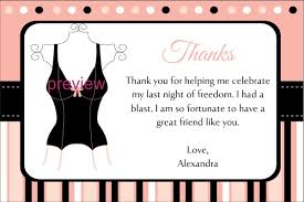 bridal shower greeting wording black inner thank you card for bridal shower picture