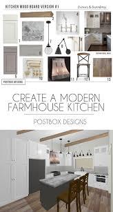 Kitchen Design Boards Farmhouse Kitchen 4 Mood Boards To Create Your Dream Kitchen