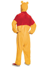 winnie the pooh deluxe costume for adults