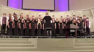 grandfather s clock clinton junior high cappella choir