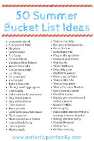 summer bucket list 2017 perfectly port